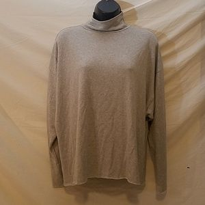 REFORMATION Moc Neck Dolman Sleeve Sweatshirt, Sm